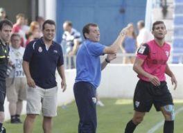 El Málaga confirma la salida de Alberto González como técnico del juvenil